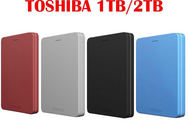 Toshiba 1 to disque dur externe HDD 1 to 2 to 2.5 USB 3.0 HD Externo Disco Duro disque dur Portable ordinateur Portable stockage pas cher Original