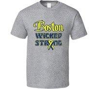 Boston Wicked Strong Marathoner Tribute Charity T Shirt