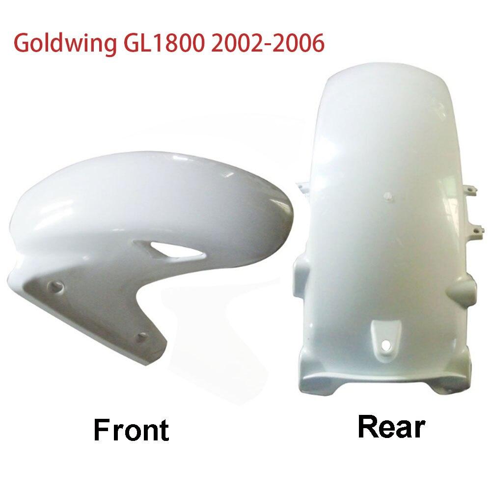 Rear Front Tire Wheel Fender For Honda 1800 GL Goldwing GL1800 2002 2006 2005 2004 2003