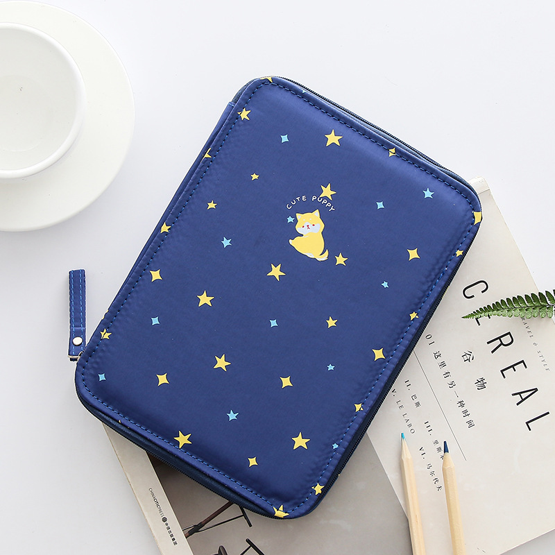 Korea Multifunction School Pencil Case & Bags Large Capacity Canvas Pen Curtain Box For Boy Students Gifts Stationery Supplies