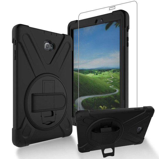 GZERMA Kids Case For Samsung Tab A A6 10.1 Inch P580 P585 Silicona Rugged Shockproof