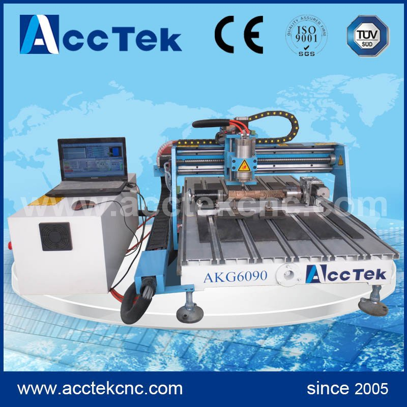 Good quality cnc 4th axis 6090 router cnc cnc 4th axis 6090 model