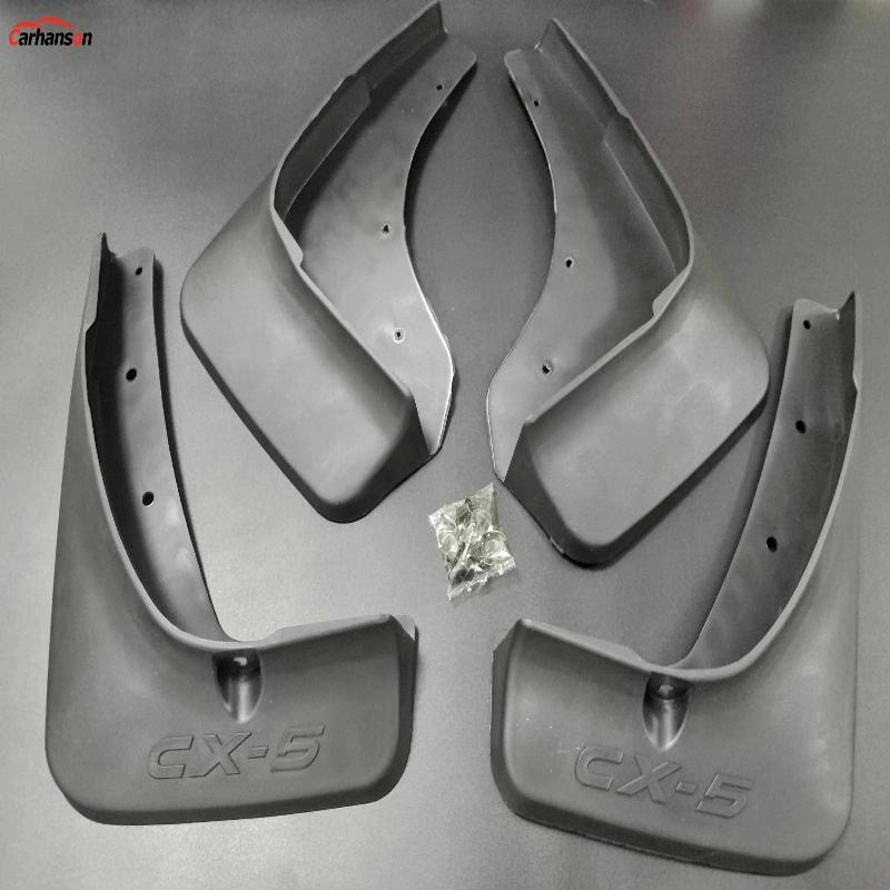 Car Accessories Styling For Mazda CX-5 CX5 CX 5 Splash Guards Mud Guard Mud Flaps splash guard Auto Fender 2013 2015 2016 4pcs