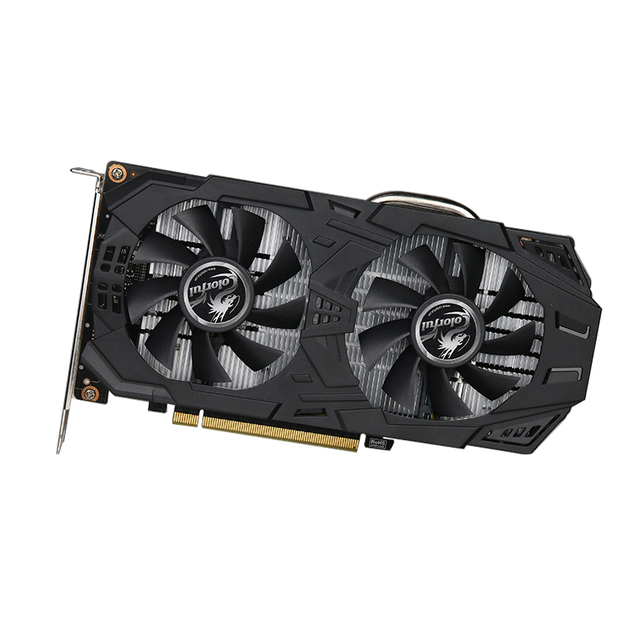 COLORFUL Mining Graphics Card 2WK1 GDDR5 Samsung Memory 23MH/s 6G For Mining Rig ETH 192 Bit 1506-1709MHz Video Card