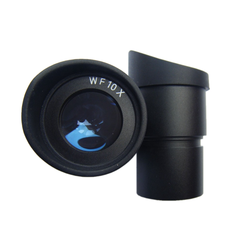 ФОТО Pair of  Wide Angle Eyepiece WF10/20mm with Rubber Cups Guards Mount Size 30.5mm for Stereo Microscope