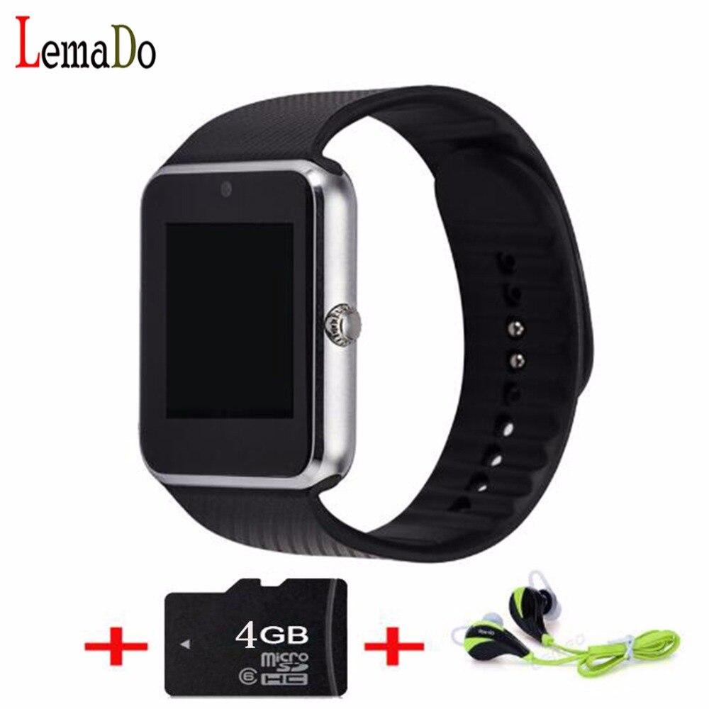 imágenes para Nueva Lemado GT08 SmartWatch Bluetooth Pantalla IPS Full View HD Smartwatch de Lujo de Negocios Reloj de Pulsera Para Teléfonos Android