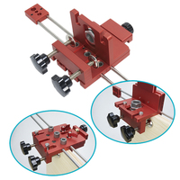 Woodworking Tool 3 in 1 Wood Working 6/8/10mm Hole Drill Punch Positioner Guide Locator Jig Tool Kit Woodworking Punch Locator