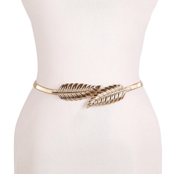Flower leaf shape Wedding Elastic Belt