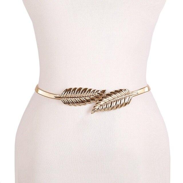 Flower leaf shape Wedding Elastic Belt