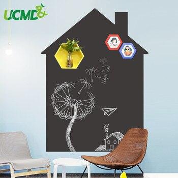 Magnetic Double layer ที่ถอดออกได้ไวนิล Chalkboard Draw Wall สติก