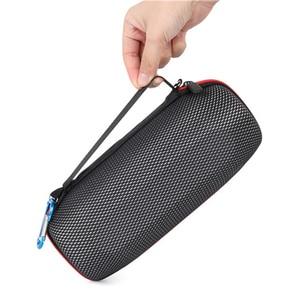 Image 5 - 2019 ใหม่ล่าสุด EVA กระเป๋าใส่กระเป๋าเดินทางกระเป๋าสำหรับ JBL Charge 4 Charge4 กันน้ำลำโพงไร้สายบลูทูธ (พร้อมเข็มขัด)