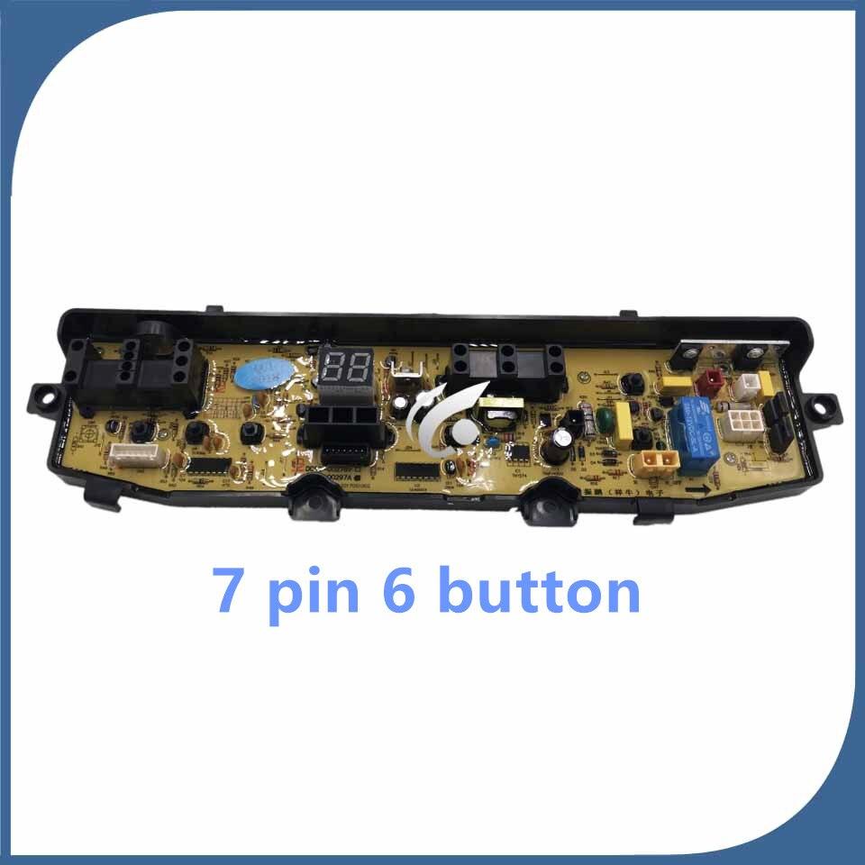 Nouveau original pour lave-linge ordinateur de bord DC92-00297A WA88V95V3 DC92-00278 7 broches 6 bouton