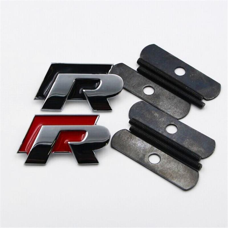 Piezas de Repuesto de automóviles Accesorios Exterior R Racing Emblema Logo Insi