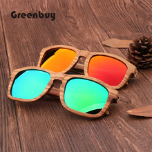 Classic Fashion Retro Zebra New Type Wooden Glasses Women Polarizing Sunglasses UV400 Anti-ultraviolet  56133