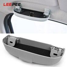 Чехол для автомобильных очков LEEPEE для Mitsubishi Pajero V73 аксессуары Galant Lioncel ASX RVR Soveran полезный держатель для автомобиля