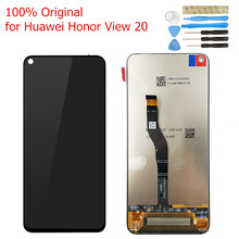 Original for Huawei Honor View 20/ Honor V20 LCD Display Screen Touch Digitizer Assembly LCD Display 10 Touch Repair Parts(China)