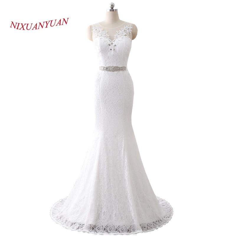 NIXUANYUAN 2018 Νέες Κομψές Εφαρμογές O - Γαμήλια φορέματα - Φωτογραφία 1