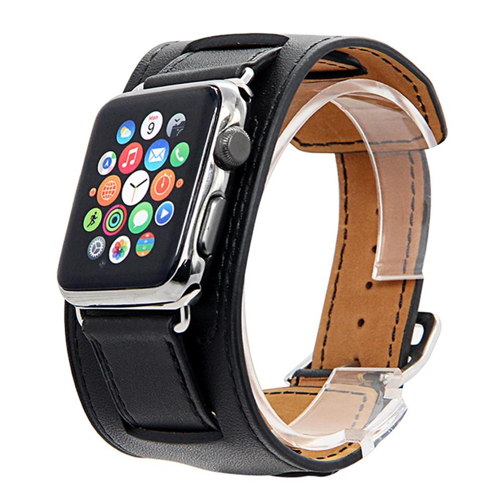 Apple Watch Cuff bracelet Black 9