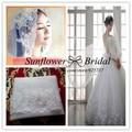 Veil Sale Wedding Accessories Bridal Veils Two Layers Ivory Wedding Weil With Rhinestones Edge Wedding Veil Ivory Short Veil
