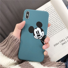 Cute Mickey Mouse Phone Case iPhone 6S 7 8 Plus X XR XS Max