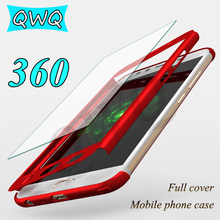 Luxury Full Cover For Samsung Galaxy J5 J7 2017 PC case 360 protector cases For Galaxy J7 2017 J5 2016 pro case With Glass Film