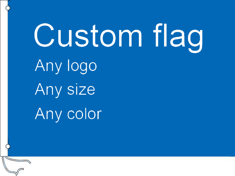 Custom Flag <font><b>3</b></font> x 5 FT 90 x <font><b>150</b></font> cm Flags Banners image