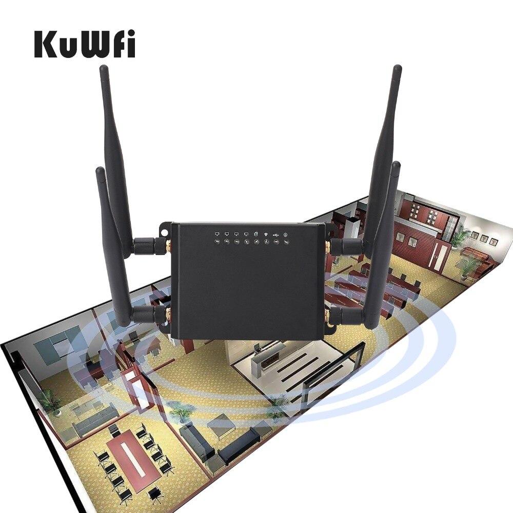 Routeur WiFi sans fil OpenWrt 300 Mbps répéteur Wifi routeur 3G 4G LTE routeur de Signal Wifi fort avec fente pour carte Sim - 5