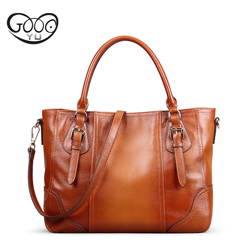 Europe and the United States fashion double color wear high quality first layer of leather lychee pattern handbag shoulder bag l women s clothing europe and the united states fashion commuter first layer of leather shoulder bag cross style square lychee