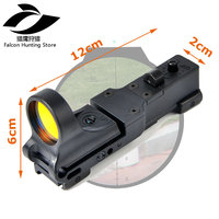 C MORE Red Dot Sight Tactical Red Dot Scope EX 182 Element SeeMore Railway Reflex Fit 20mm Picatinny Weaver Rail