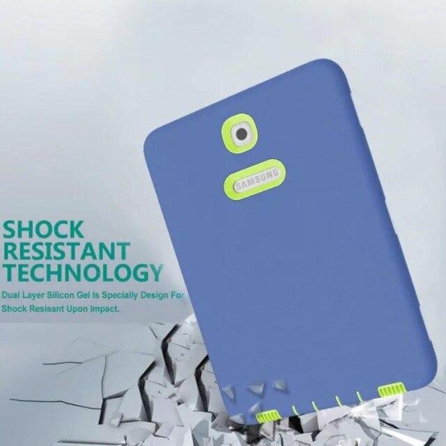 Новое объявление роскошь Планшет ударопрочный чехол Для Samsung Galaxy Tab S2 9.7 T810 T813 T815 T819 ребенок мода Назад случаи + ручка