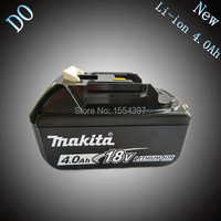 Free Shipping Spare 4 0Ah Replacement Power Tool Battery For Makita 18V BL1830 LXT400 194205 3