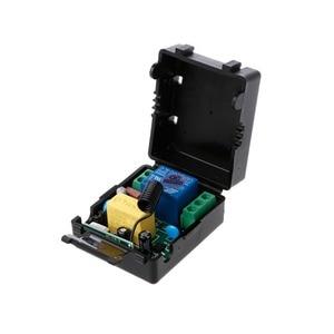 Image 2 - AC 220V 10A 1CH RF 433MHz беспроводной пульт дистанционного управления Модуль приемника + передатчик Комплект для интеллектуального дома