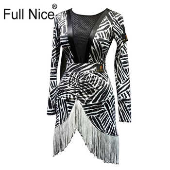 Women Girl Latin dance wearing clothes Leotard tops and skirt 2 pieces set Fringe Ballroom dancing tango salsa cha cha rumba - DISCOUNT ITEM  5 OFF Novelty & Special Use