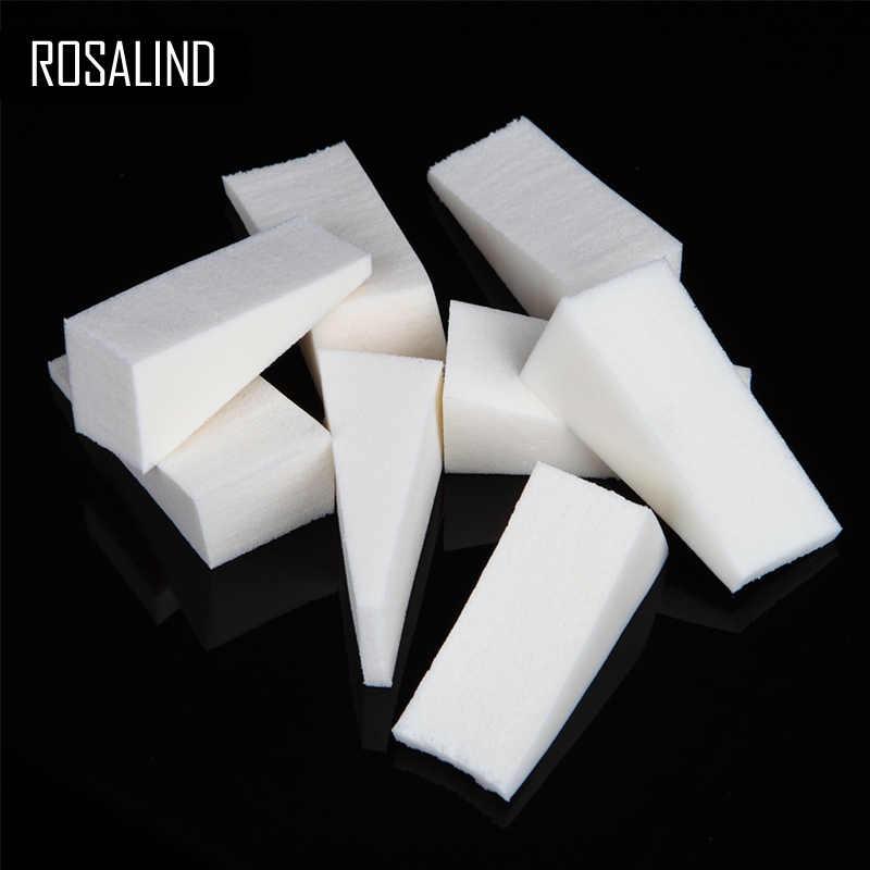 רוזלינד נייל קבצי סט עבור מניקור 1 יחידות/8 יחידות חיץ נייל אמנות עיצוב פדיקור ניסור נייל ספוגים אקריליק נייל ג 'ל כלים