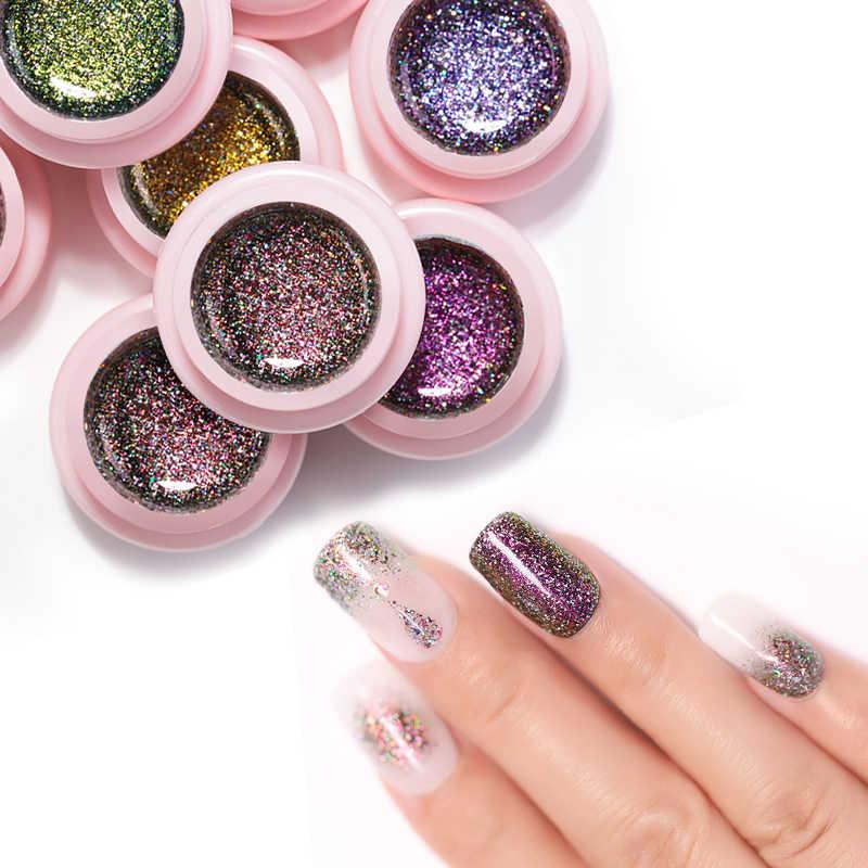 Detail Feedback Questions about UR SUGAR 5ML Glitter UV Nail ...