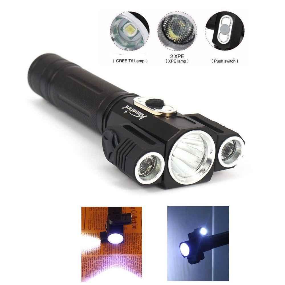 AloneFire X180 lampe de poche LED XML T6 5000LM étanche en plein air escalade puissant aimant torche poche Flash