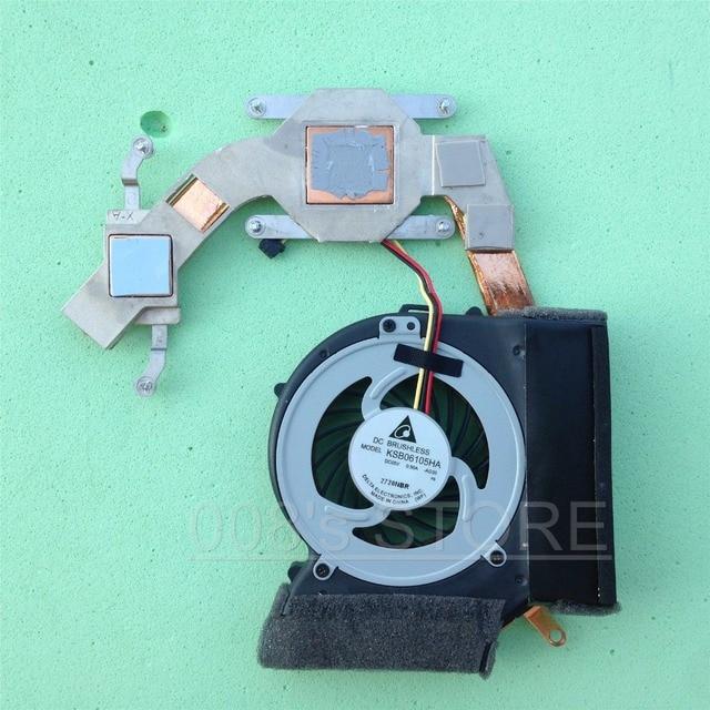 Original New Laptop CPU Cooler Fan Heatsink For Lenovo ThinkPad SL410 SL410K SL510 Integrated 60Y4179 60Y4180 DELTA KSB06105HA