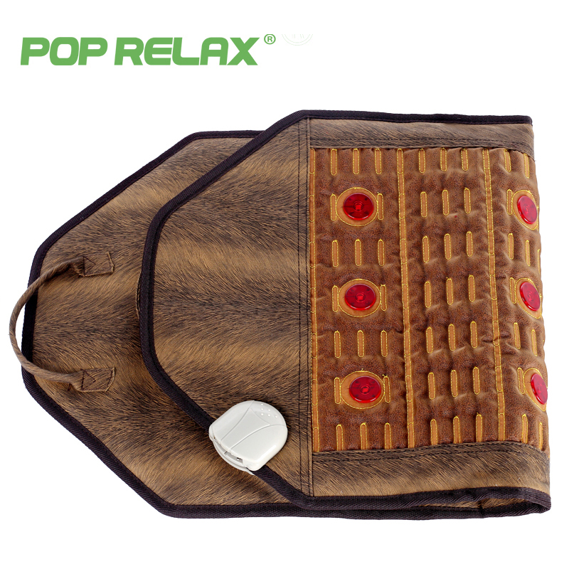 POP RELAX Korea health mattress photon heating therapy pad germanium mainfan ceramic pain relief electric jade stone massage mat