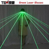 532nm Green Laser Glasses Influx Of People To Stage Essential Luminescent Glasses