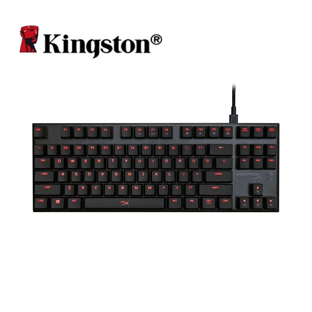 Kingston HyperX Alliage FPS Pro Clavier Mécanique Cerise MX Gaming Claviers Rétro-Éclairage LED Anti-ghosting Plein N-clé retournement