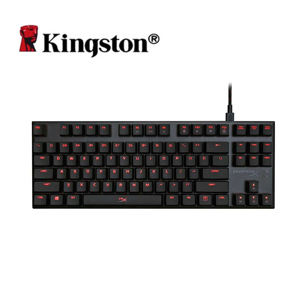Kingston HyperX de aleación de FPS Pro Teclado mecánico Cherry MX de juego teclados de retroiluminación LED Anti-ghosting