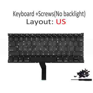 """Image 3 - New for Apple Macbook Air 11"""" A1370 A1465 US USA English Keyboard us Replacement with Backlight Backlight 2011 2015 Year"""