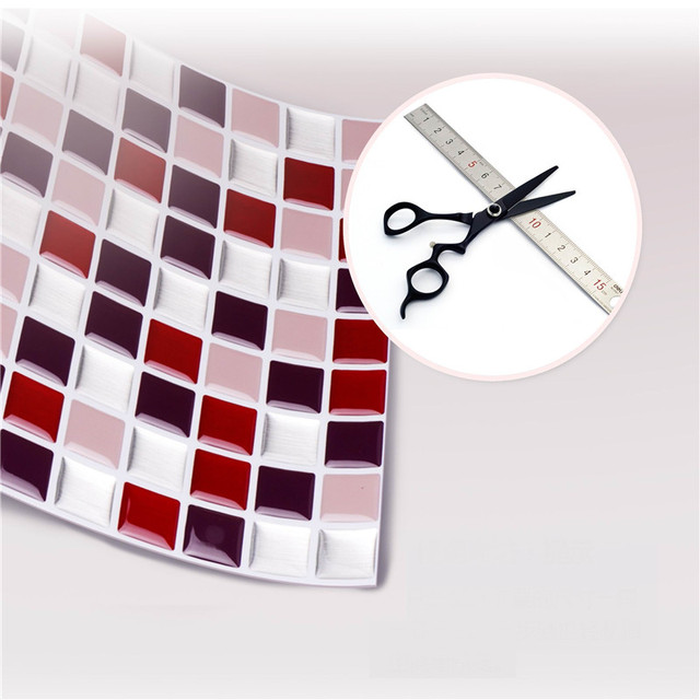 Self Adhesive Mosaic Tile Wall Decal Sticker 4