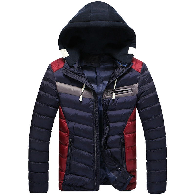 New Arrival Winter Jacket Men Warm Cotton Padded Coat Mens Casual Hooded Jackets Handsome Thicking Parka Plus size Slim Coats winter brand new men winter cotton down jackets for men winter hooded jacket men winter coat plus size xxxl