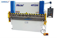 HARSLE Brand CE Standard WE67K-63TX2500 Aluminum metal bending machine in stock