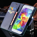 Роскошные Ультра Тонкий Флип Магнитный Кожаный Чехол для Samsung Galaxy S3 III i9300 Стенд Кошелек Стиль С Карт памяти Телефон Задняя Крышка