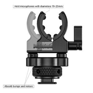Image 2 - Smallrig Dslr Camera Kooi Microfoon Houder (Koude Schoen) met 19 25Mm Diameter Microfoon Shock Klem Houder 2352
