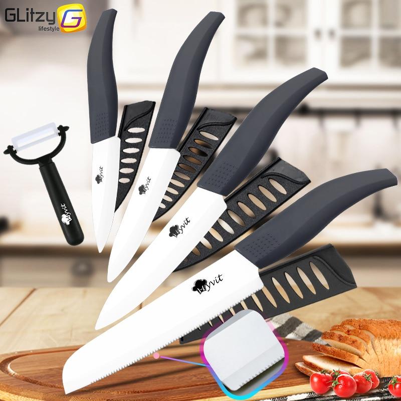 Keramički nož Bijela oštrica cirkonij 3 4 5 inča + 6 inča - Kuhinja, blagovaonica i bar - Foto 2