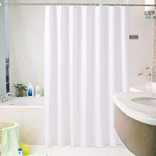 ENNAS Waterproof Heavy Duty Shower Curtain Fabric for Hotel, Bathroom White Color - 3 size