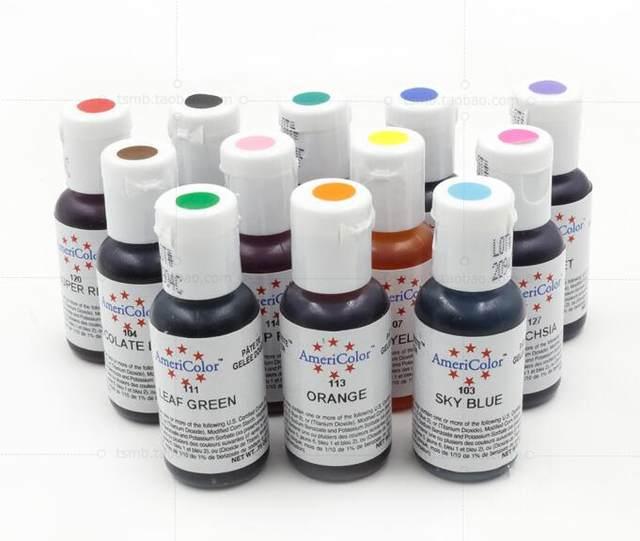Online Shop 1pcs 21g Multicolor Food Color Edible Pigment Color ...